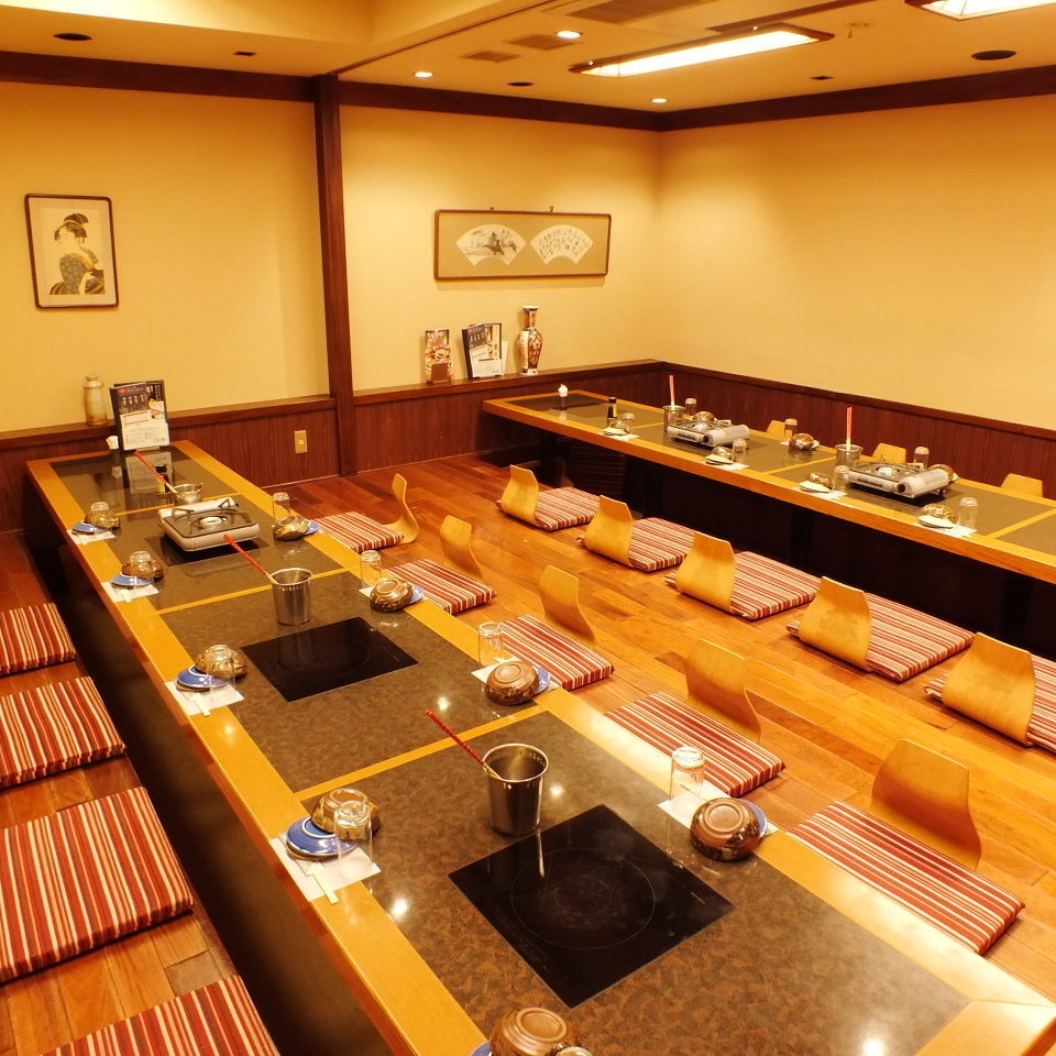 【Banquet up to 70 people OK】 Popular large digging tatami room Private room ♪ Company banquet, alumni association etc ... It is ideal for various gatherings ◎