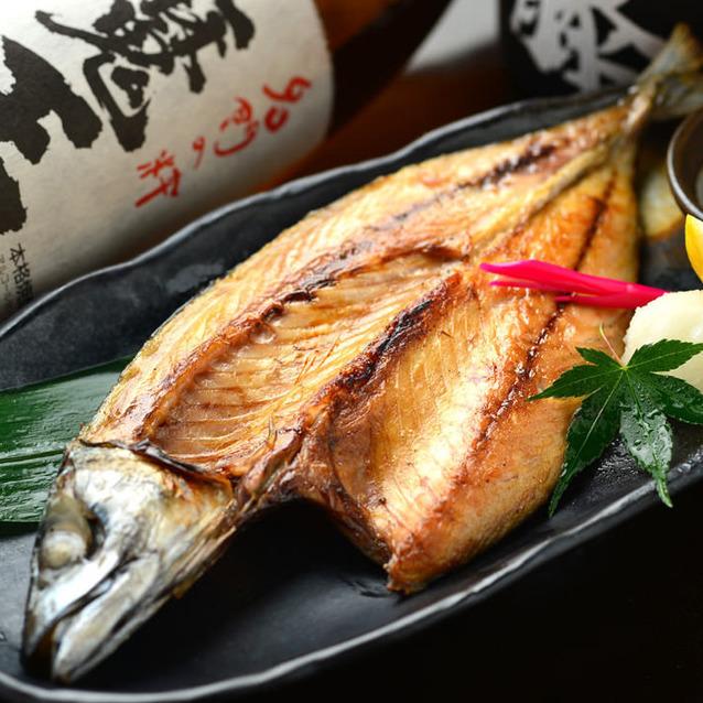 Overnight dried mackerel