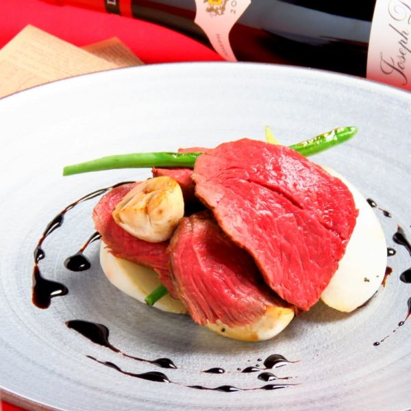 Recommended menu of chefs changing every 3 days 【Roasted red cattle】
