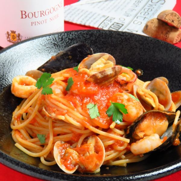 Recommended menu of chefs changing every 3 days 【Seafood tomato pasta】