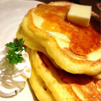 Thick-baked hot cake