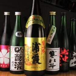 All-you-can-drink local sake throughout the country carefully selected by the chefs of sake lovers