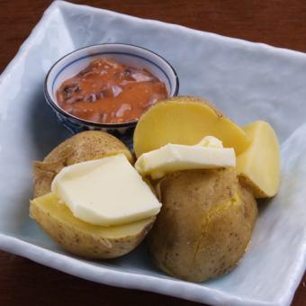 홋카이도 브랜드 감자 감자 버터