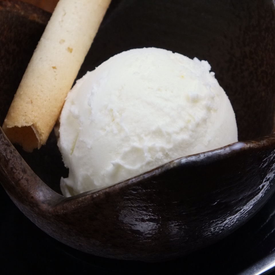 Shiretoko salt Ice cream