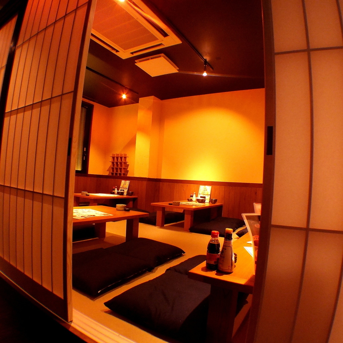 【2F】 From 20 persons to about 27 people Private room Osaki banquet is also possible!