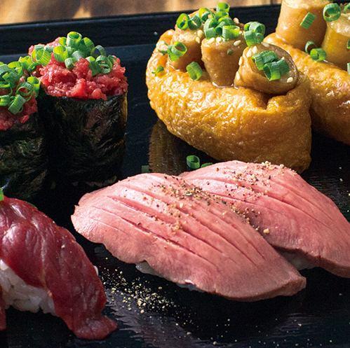 天神×肉寿司
