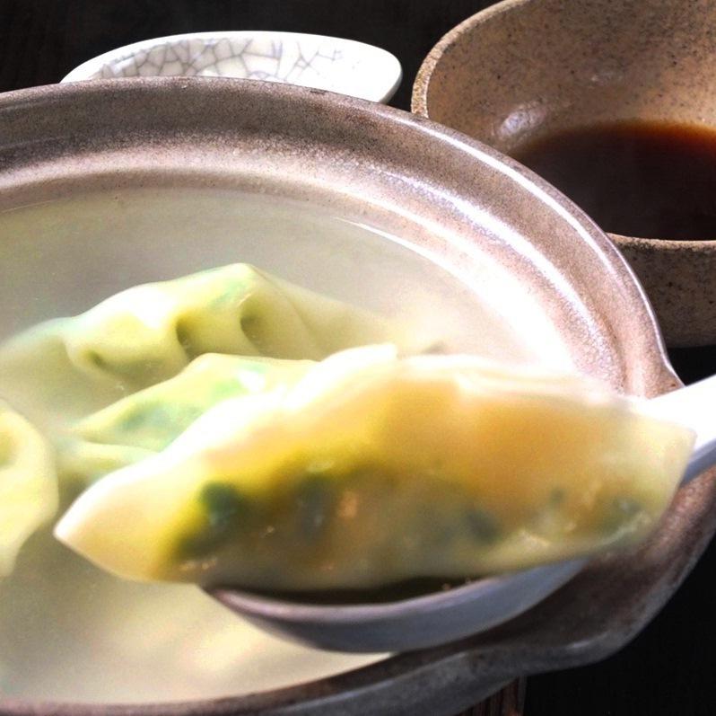 Water dumplings (white fish surimi)
