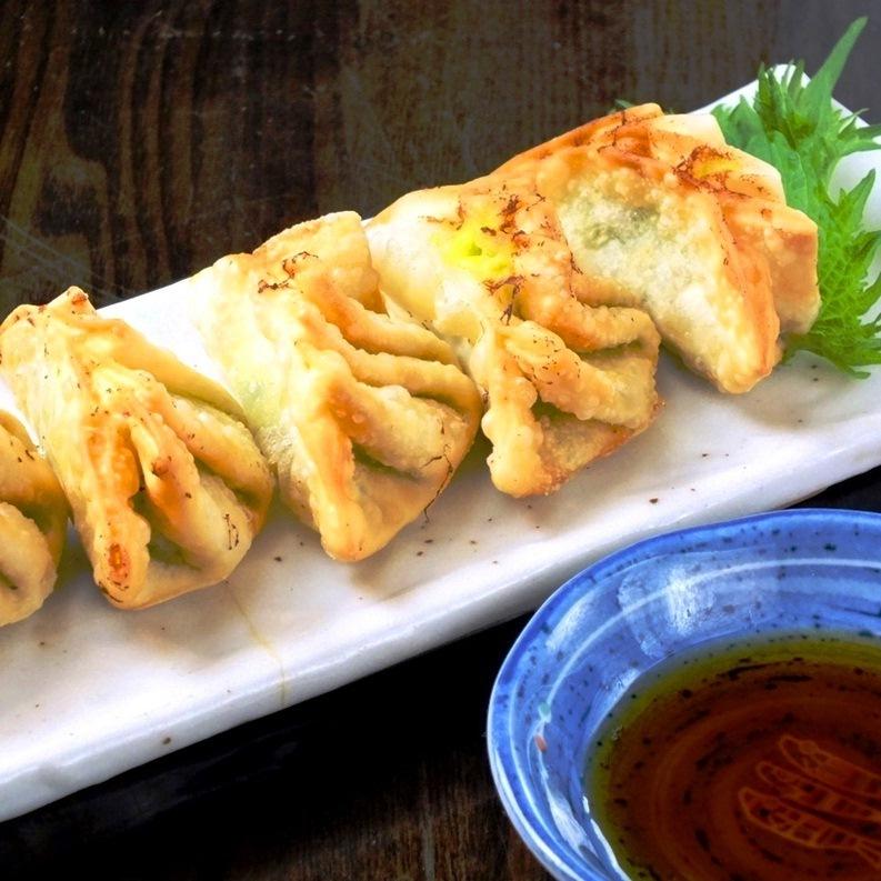 Fried dumplings (5 pieces)
