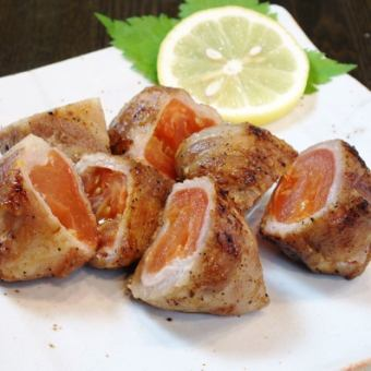 Oigawa-yaki (tomato's pork meat volume)