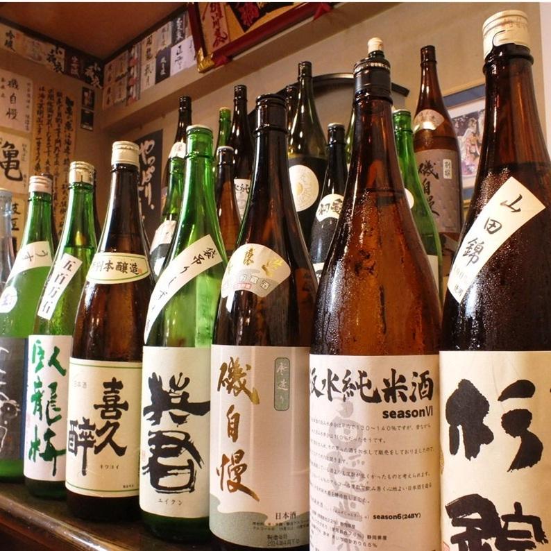 I am fluent in 15 kinds of local sake ♪