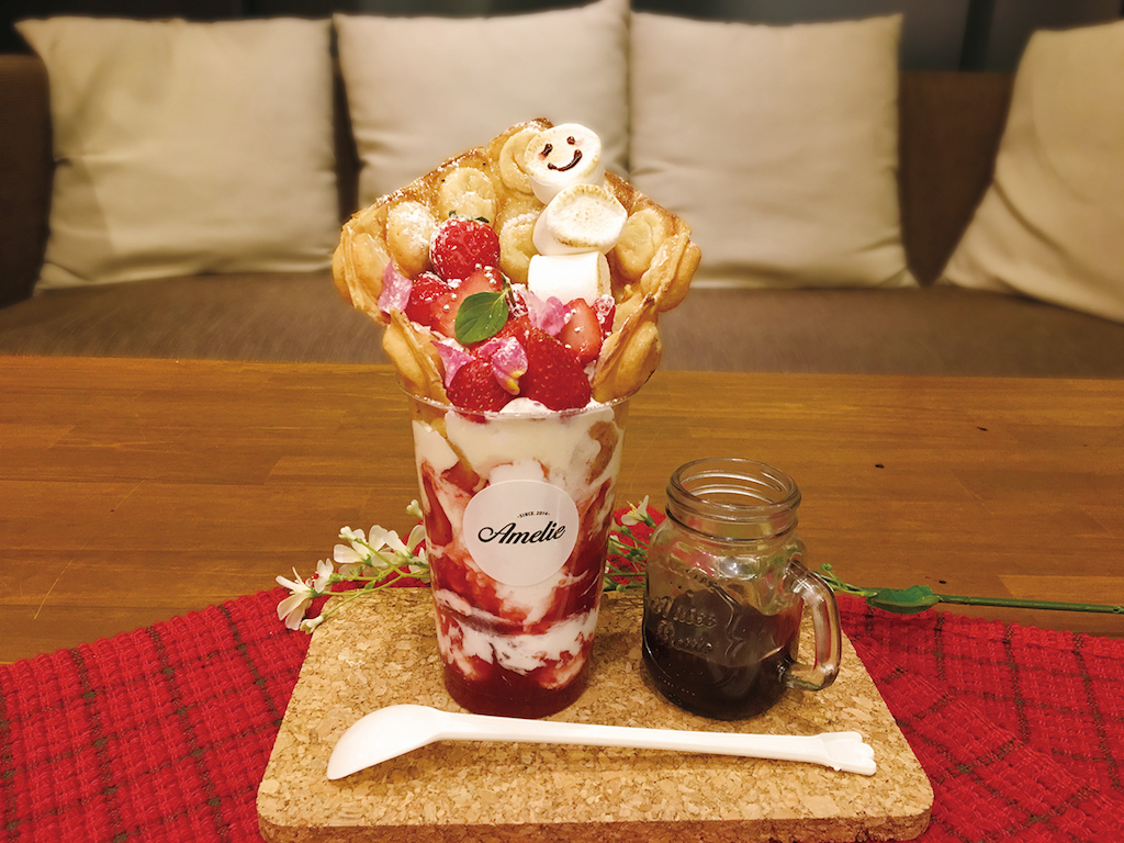 名古屋第一!!紐約蛋華夫餅【限時】草莓蛋華夫餅乾×塗抹