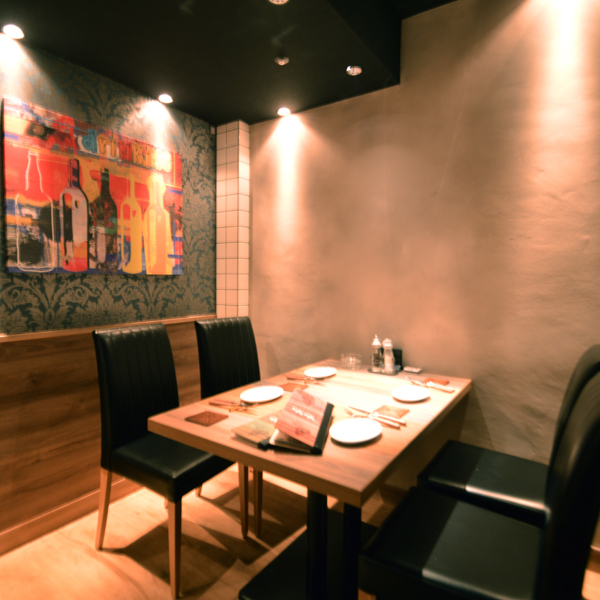 We are preparing many stylish spaces in a fully private room! It is a very popular seat that will be buried soon by reservation.First of all, please do not hesitate to contact the railway station ♪ We also have all you can drink together with a la carte ◎ We are waiting for your reservation!