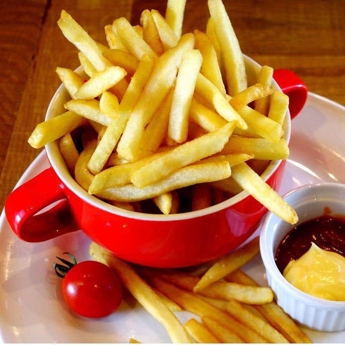 【당점 2 번 인기] 산더미 감자 튀김