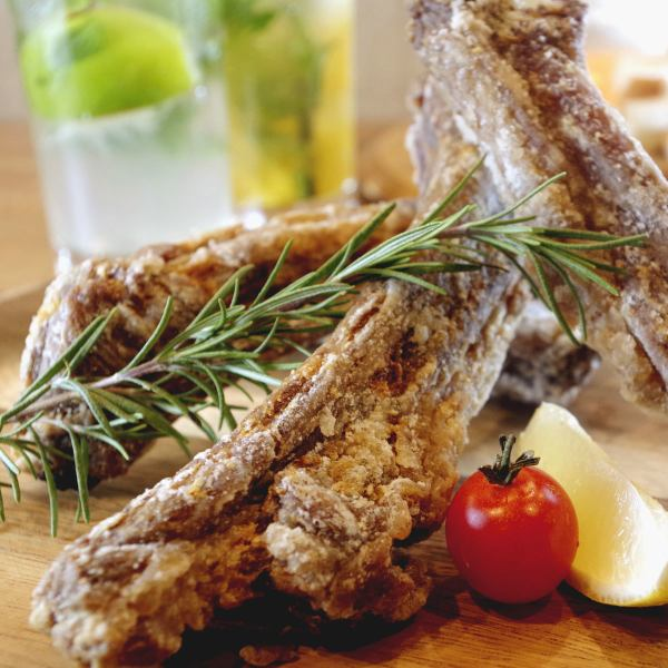Tomato tavern specialties ♪ [choose from five types of taste spareribs (photo is classic Salt) ⇒1 this 480 yen