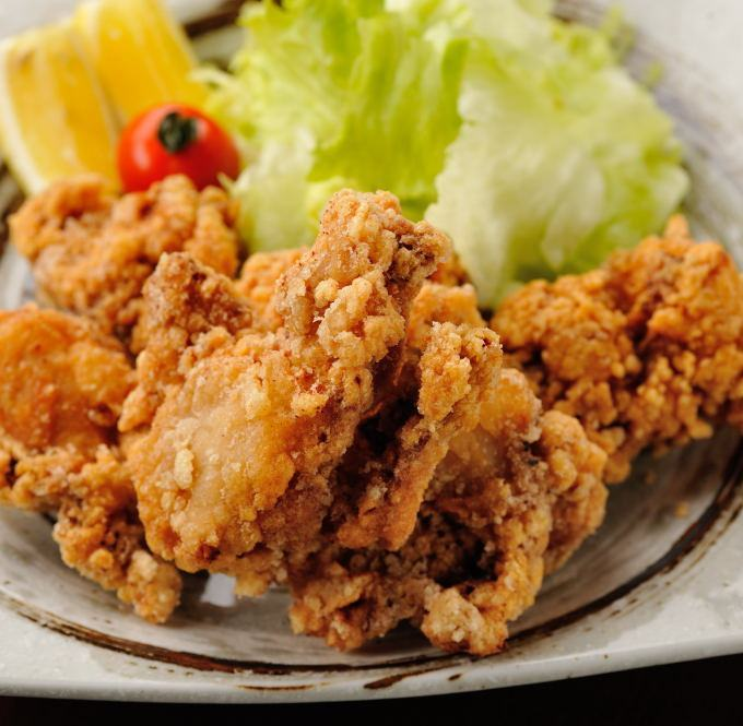 Deep-fried young chicken peach