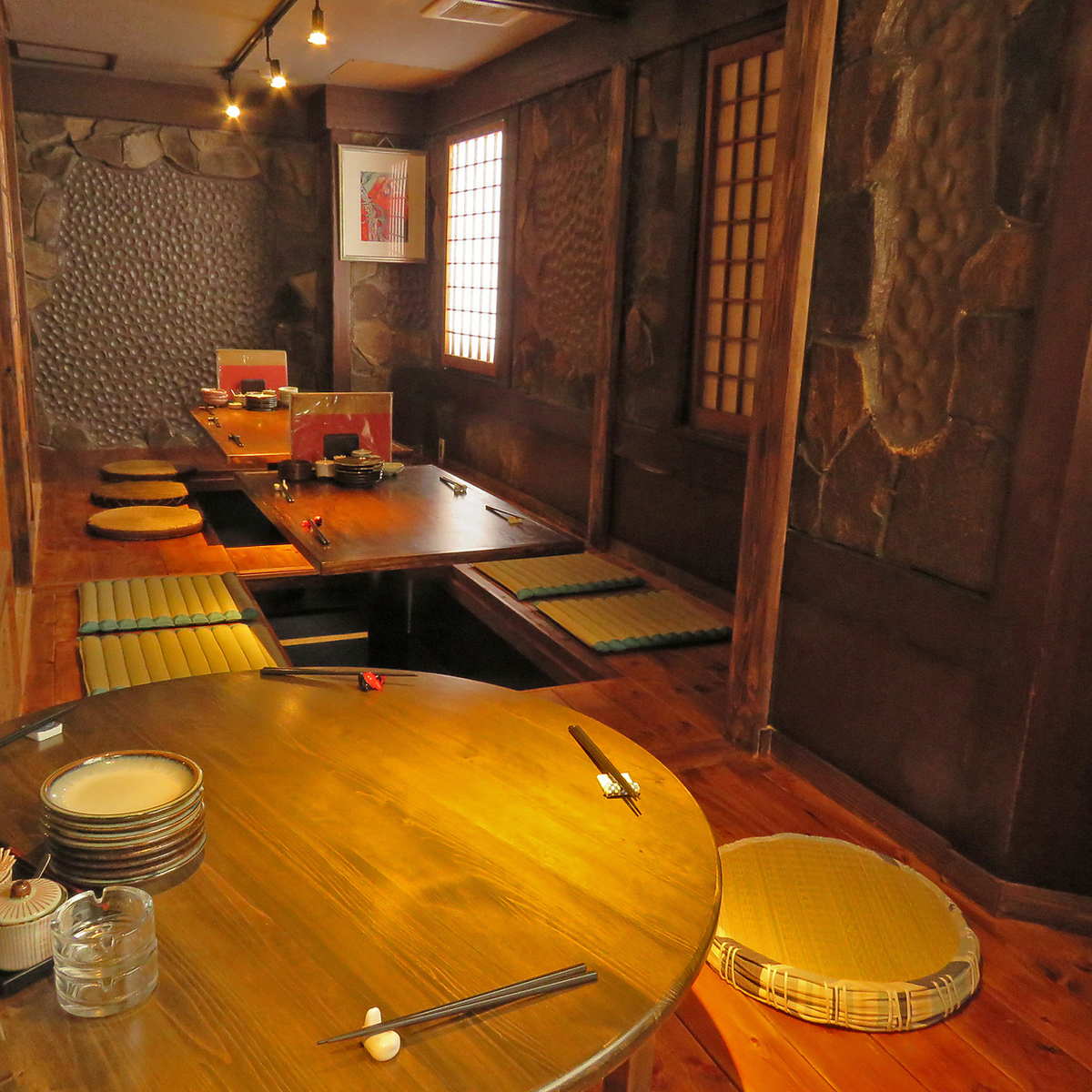 Osami private room is for 20 people ~ OK! It is a perfect space for banquets for adults ♪