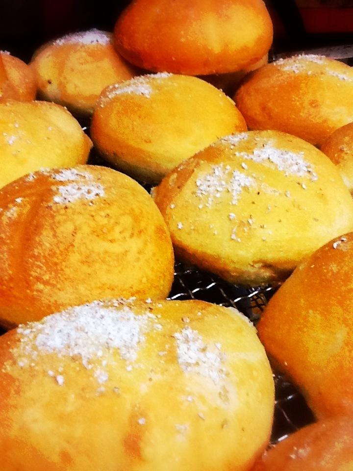 Every morning handmade baked bread