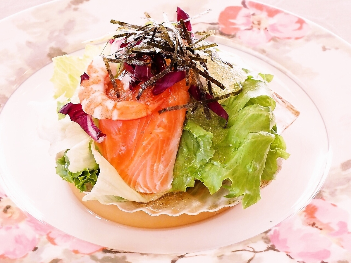 Luxury appetizer ... Western style sashimi hors d'oeuvres ☆