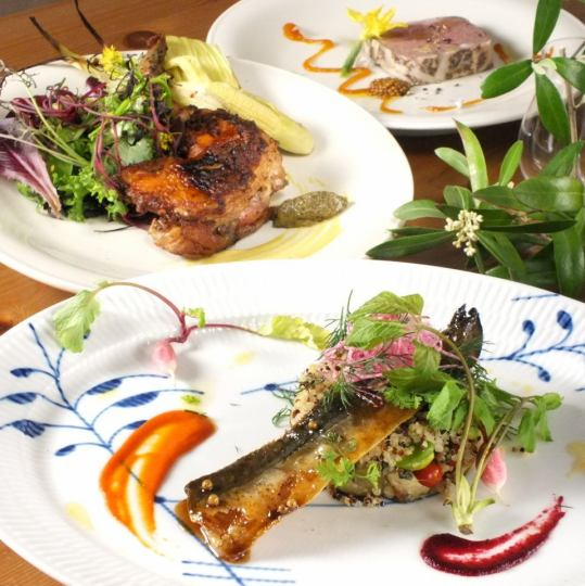 【Embrace style】 To customers for seasonal dishes
