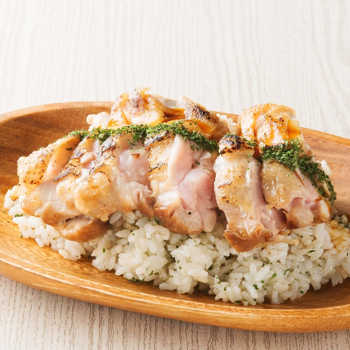 Nagoya Cochin's grilled chicken rice