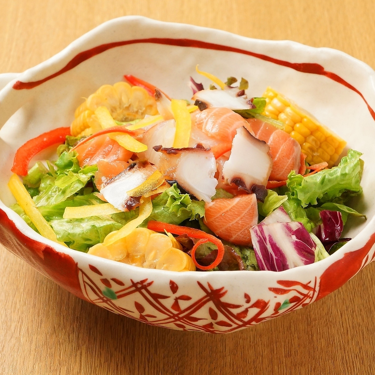 시레토코 해물 샐러드