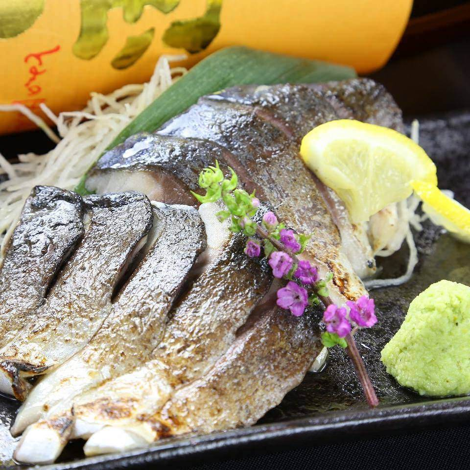Broiled tighten mackerel