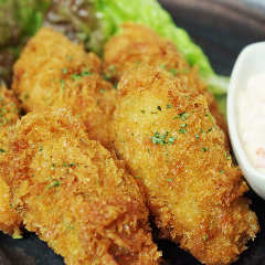 Oyster fried with special tartar sauce