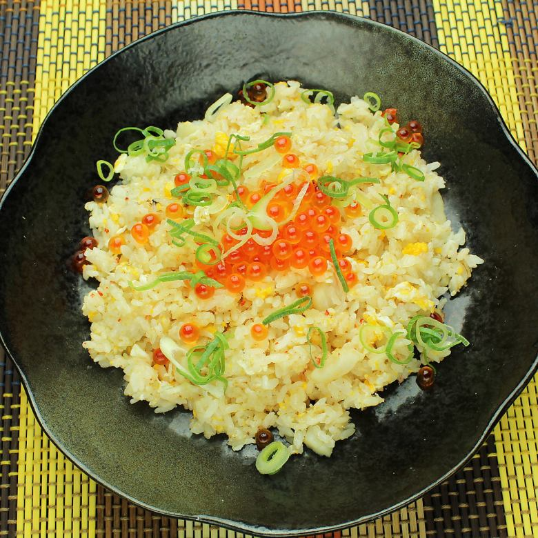 Seafood luxury fried rice