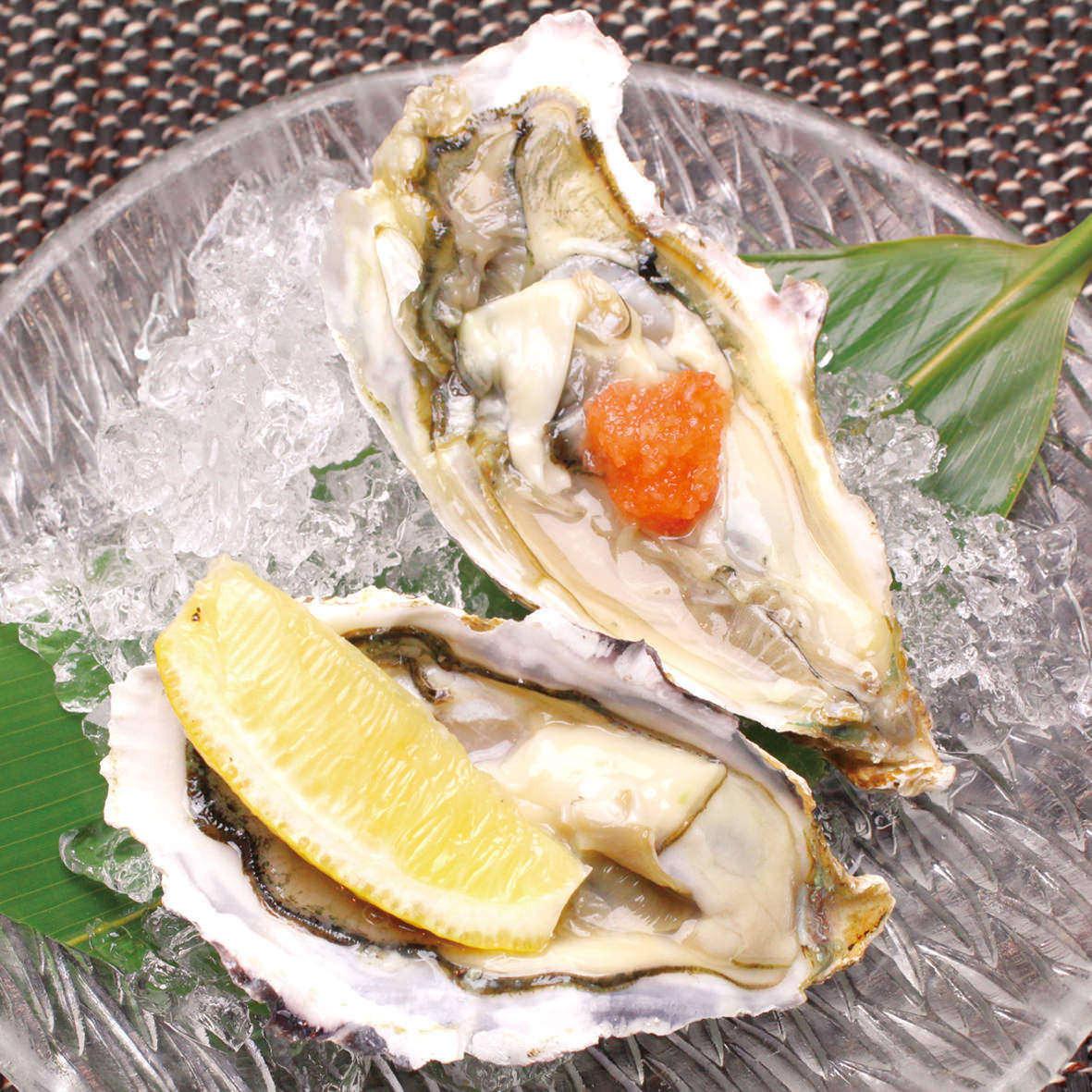 蒸生蠔/生牡蠣清酒