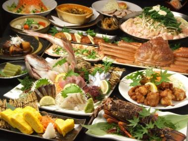 【Recommended for banquet】 All-you-can-eat all-you-can-drink all-you-can-eat + 4000 yen (tax included)