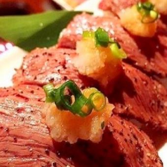【All you can eat】 Taste delicious season (● ^ o ^ ●) ★ Wagyu Beef Sushi ★ All-you-can-eat course 3500 yen (excluding tax)