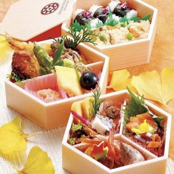 【Lunch box】 Hand-made lunch feels the season using seasonal ingredients obtained from the seasonal nature everywhere ~ Deliverable ~