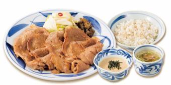 Butakata里脊午餐