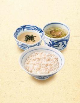 보리밥 세트