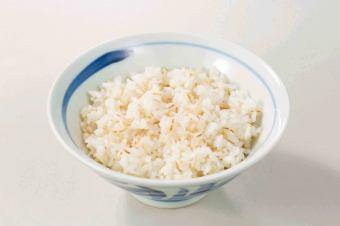 煮大麦和大米