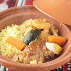 본고장의 재료를 들여와 아라비아 전통 음식을 일본에서 재현