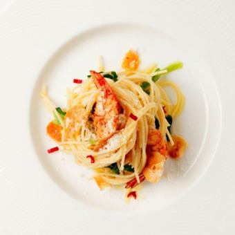 【Lunch】 LUNCH PASTA course (with buffet) 2,800 yen