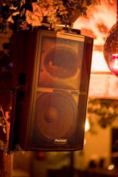 Adopting the highest sound quality acoustic equipment ♪ BGM with good atmosphere further boosts!