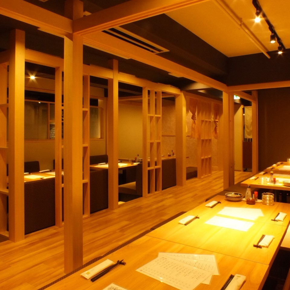 It is a calm atmosphere seat where Shiraki is scented.