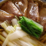 Duck with soba raised in Zao soba