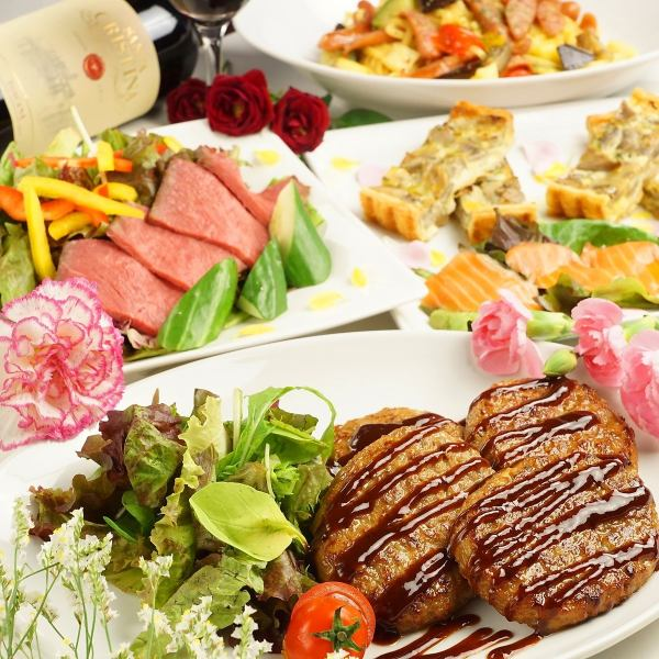 Italian ♪ watching the night scenery 【All-you-can-drink for 3 hours】 Special dinner course 3480 yen