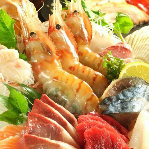 北海道新鮮的魚的季節,精心以合理的價格選擇的材料!