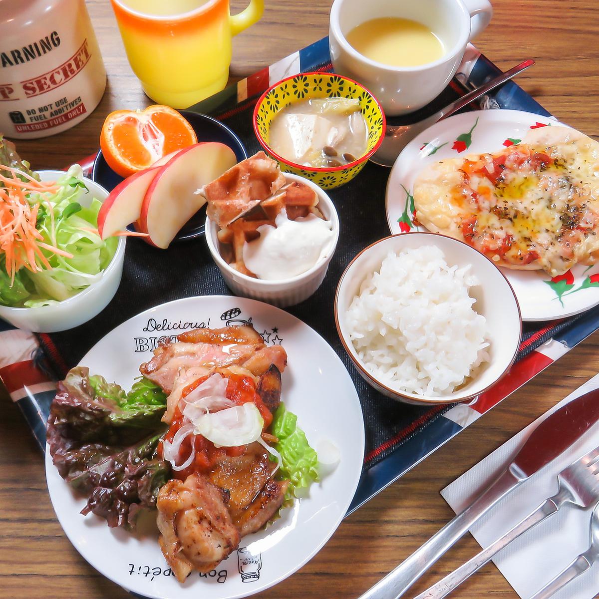 午餐和晚餐