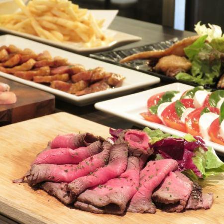 【Rucole Buffet Limited】120分鐘吃喝自助餐Rumoru原味自助餐4200日元