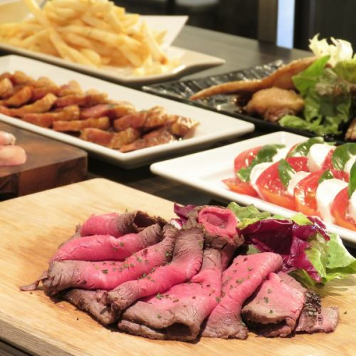【Rucole Buffet Limited】 120 minutes Eat & drink all-you-can-eat Rumoru original buffet 4200 yen