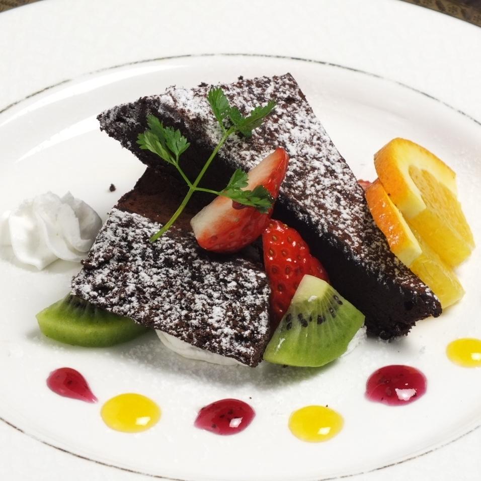 Panna cotta / Gateau chocolat