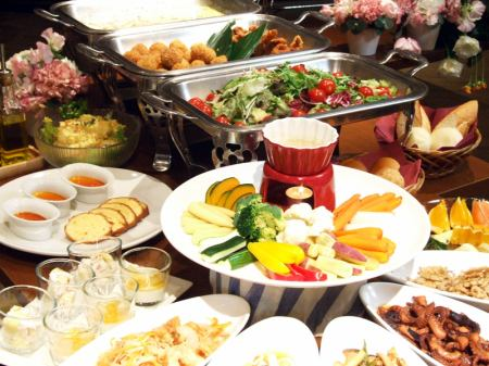 ◎ Amavor a popular buffet lunch ◎