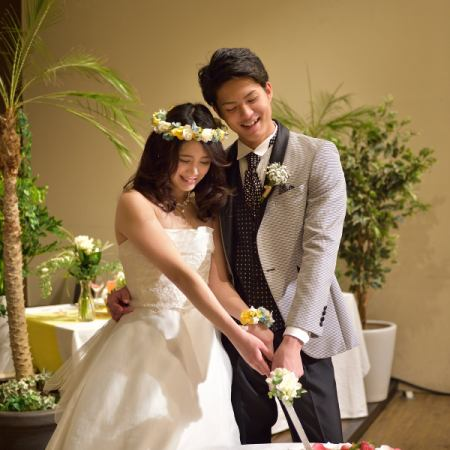 【Standard Wedding Plan】 Including Free Drink