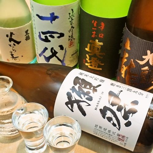 銘酒30種以上!300円(抜)~