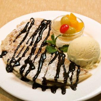 烤香草冰(枫叶或巧克力)